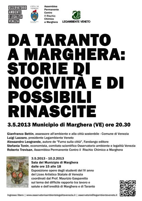 Da Taranto a Marghera
