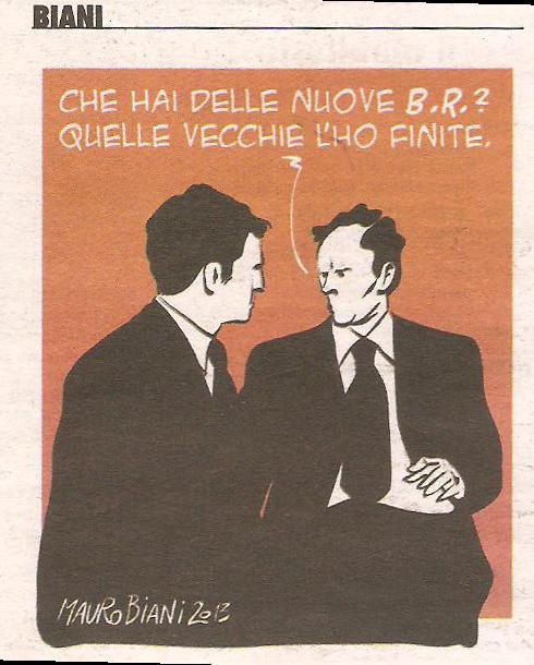 Biani - Vignetta de il Manifesto (nuova finestra)